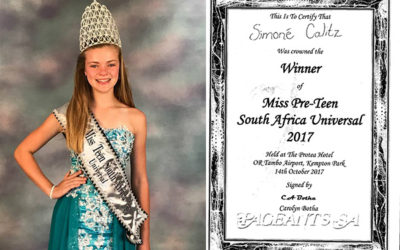 Miss Pre-Teen South Africa Universal 2017