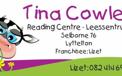 Lesers is wenners!  Tina Cowley Sentrum open